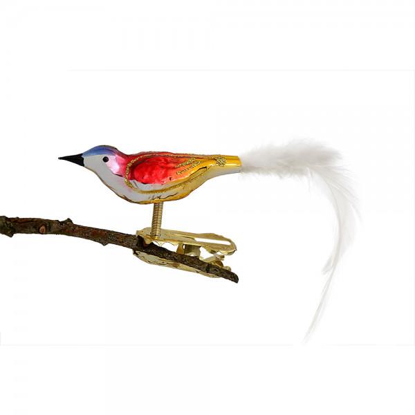 Mini-Vogel, gespritzt, Feder