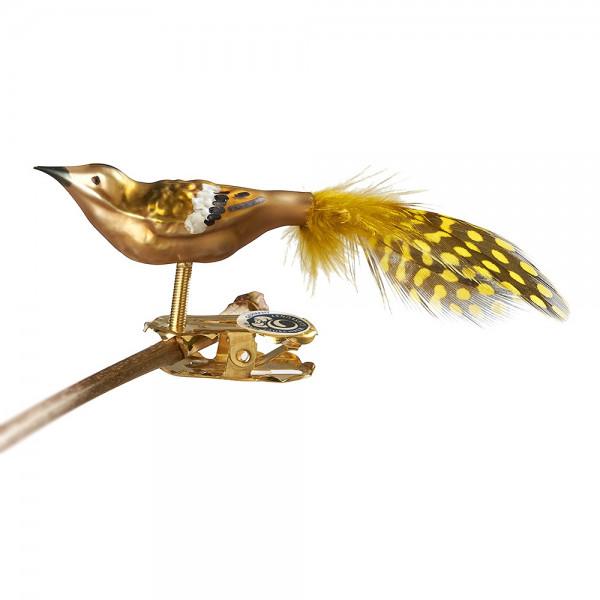 Mini-Wintergoldhähnchen, Naturfeder