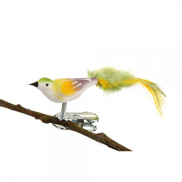 Mini-Vogel, gespritzt, Federn