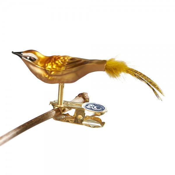 Mini-Sommergoldhähnchen, Naturfeder