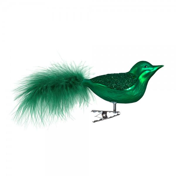 Vogel, Flügel grüner Glimmer