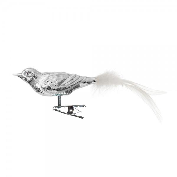 kleiner langer Vogel, Feder