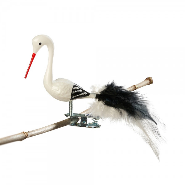 Mini-Storch, Naturfedern