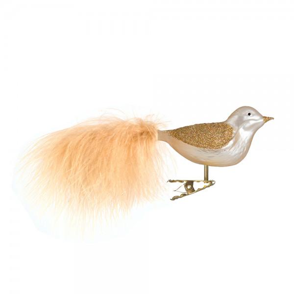 Vogel, Flügel Goldhologrammglimmer