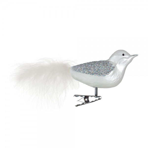 Vogel, Flügel Silberhologrammglimmer